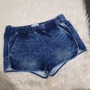 """DENIZEN from LEVI""""S denim dark wash shorts"""
